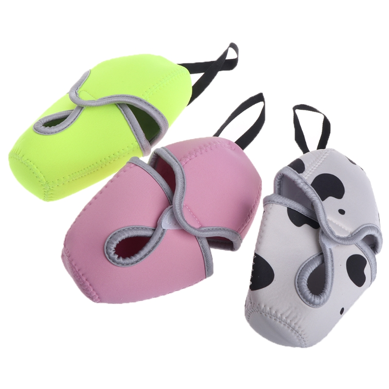 3 Color Protective Insulated Sleeve Cover Case For 8oz Comotomo Baby Bottles With Sling BC0814 Drop Shipping