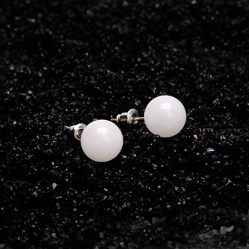 earring stud natural stone box product sardine the