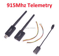 3DR 100mW 915 Radio Telemetry 915Mhz Air And Ground Data Transmit Module With OTG Cables For