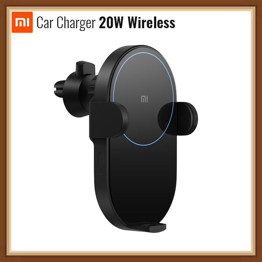 Methodisch Voorverkoop Xiaomi Mijia Wireless Car Charger 2usb 20 W Max Elektrische Auto Pinch 2.5d Glas Ring Verlicht Voor Mi9 (20 W) Mix 2 S/3 (10 W) Qi Superieure Materialen