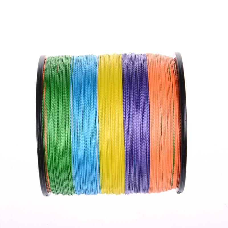4 strands 500M Multi-color