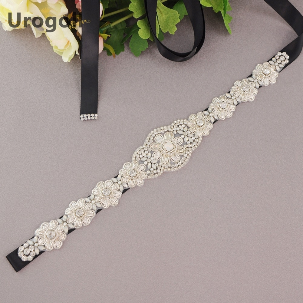 Trendy Wedding Sash Elegant Bridal Belts crystal Pearls Beaded Free Shipping High Quality Wedding Belts Girdle Lady Accessories