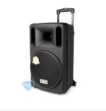 Fidek FPX 100BT card outdoor Professional Audio Trolley speaker Portable rod WiFi mobile speaker battery 10