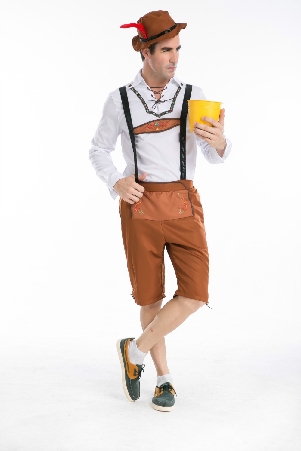 Free Shipping Hot Selling Men Halloween Costume Party Carnival Costume German Beer Men Oktoberfest Costume M XXL-in Anime Costumes from Novelty u0026 Special ...  sc 1 st  AliExpress.com & Free Shipping Hot Selling Men Halloween Costume Party Carnival ...