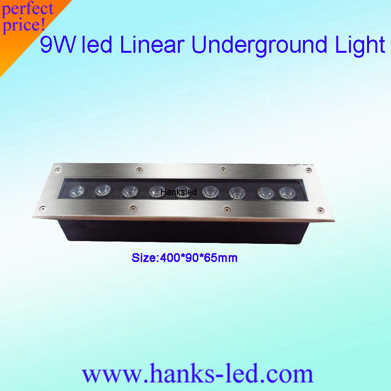 Lights & Lighting Led Lamps Cheap 5-9pcs 9w Strip Led Underground Lamp Ac85-265v Outdoor Ip65 Spot Floor Garden Yard Led Inground Light Ce&rohs Freeship Handsome Appearance