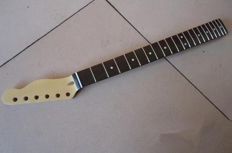 ФОТО 21 Fret  inlay dots Rosewood fingerboard maple Electric Guitar Neck Guitar Parts can be customized