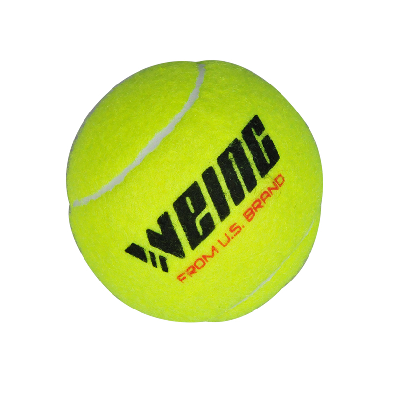 Tennis Training Ball With Three Installed Rubber Chemical Fiber Material Is More Durable
