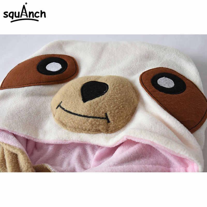 ccdda826cfb ... Animal Onesie Adult Sloth Pajamas Kigurumi Cartoon Funny Jumpsuit Women  Overalls Sleepwear Winter Outfit Polar Fleece ...