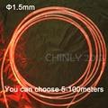 5meters 1.5mm side glow fiber optic lighting car fiber optics