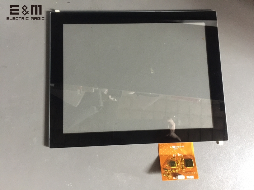 10.4 Inch 4:3 USB Capacitance Touch Panel For LCD Screen G+G Communication Touch Screen Accessories