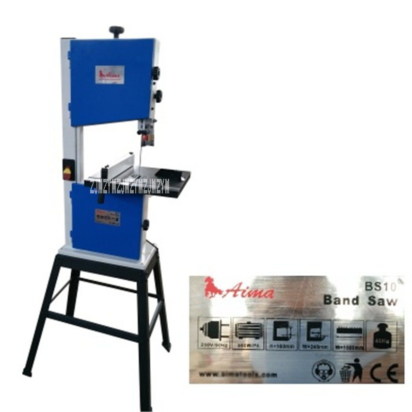 New Arrival 10 Inch Woodworking Band Saw Machine Buddha Beads Open Material Saw Machine Curve Pull Saw Machine 245mm 220V 550W 550w 10 inch band sawing machine s0256 band saw joinery sawing machine