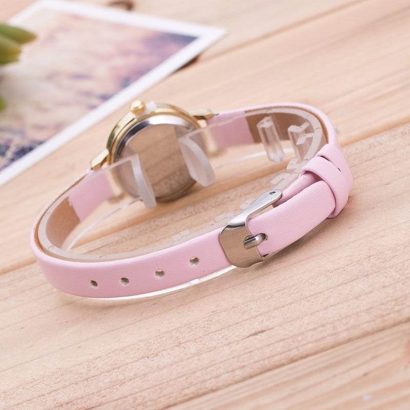 Reloj Mujer Nowa Moda Zegarek kwarcowy Kobiety Mała tarcza Mini - Zegarki damskie - Zdjęcie 6