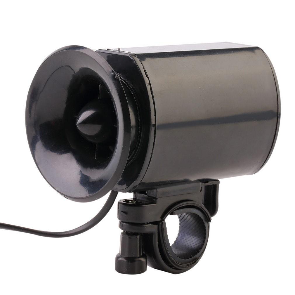 6 Sounds Super Loud Electronic Bicycle Bell Bike Horn Siren Ring Alarm Speaker new arriival