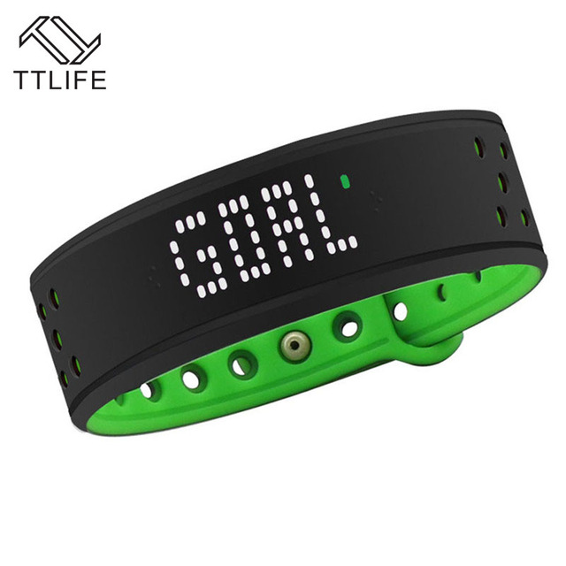 TTLIFE Brand Smart Bracelet Smart Fitness Band IP57 Heart Rate Monitor Wristband Fitness Tracker for iPhone Samsung Smartband