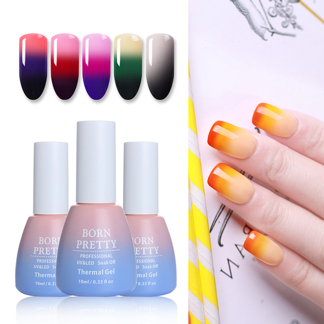 3 in 1 Color Changing Thermal Nail Gel