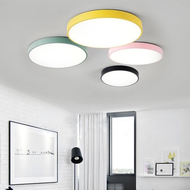 LED 천장 조명 현대 천장 조명 거실 조명기구 침실 주방 원격 제어 ZXD0002