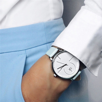 Shengke Brand Women Luxury Watches Simple Fashion Personalized Women S Quartz Clock 3Atm Waterproof Leather Wristwatch