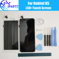 Oukitel K5 LCD Display+Touch Screen 100% Original Tested LCD Digitizer Glass Panel Replacement For Oukitel K5