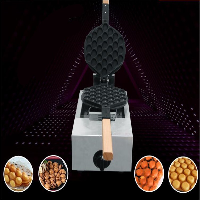 commerial LPG stainless steel HK style Egg waffle maker , Egg puff machine;Bubble waffle  Machine,Non-Stick  egg cake oven pc version digital stainless steel egg waffle maker machine egg puff machine bubble waffle machine non stick egg cake oven