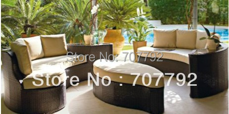 2017 Outdoor Rattan Effect 6 Seat Furniture Sofa Set with Cushions-in  Garden Sofas from Furniture on Aliexpress.com | Alibaba Group - 2017 Outdoor Rattan Effect 6 Seat Furniture Sofa Set With Cushions