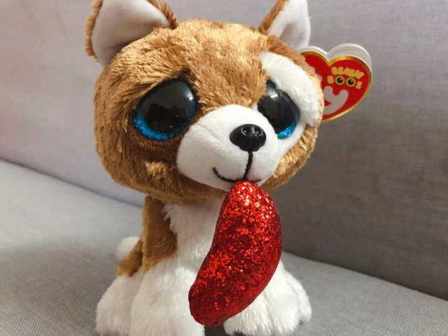 Ty Beanie Boo Dangler Sloth Dragon Cat Penguin Owl Pig Unicorn Dragon Wolf  Cat Fox Dog Plush Toy Doll Stuffed Animal a33aaeb62ee3