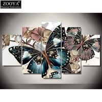 Zhui Star 5d Diy Diamond Embroidery Colorful Butterfly Diamond Painting Cross Stitch Full Drill Rhinestone Mosaic