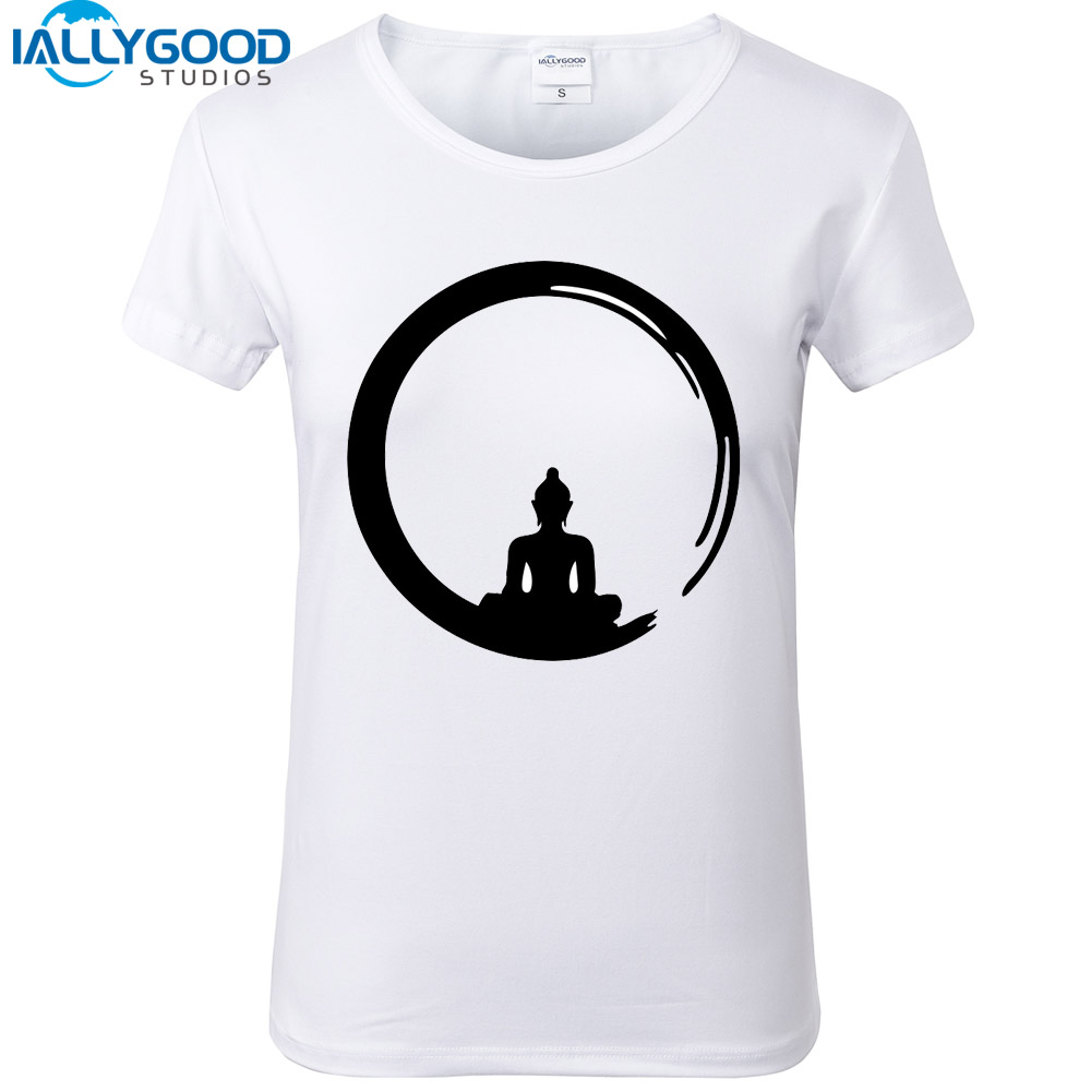 2017 new summer fashion design meditation buddha t shirts for T shirt design 2017