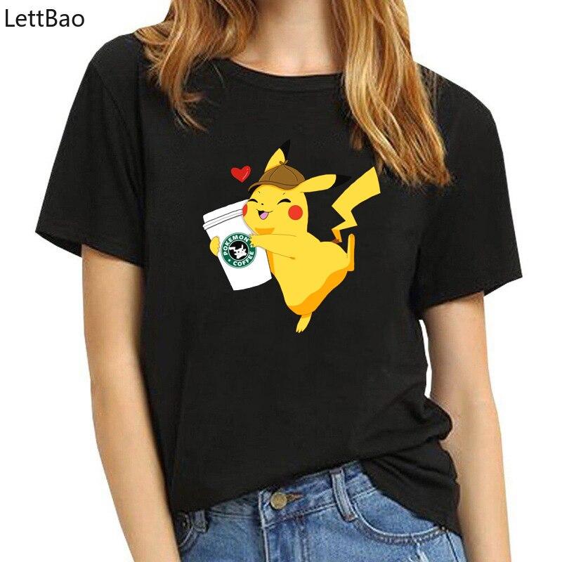 japanese-anime-print-vintage-style-font-b-pokemon-b-font-t-shirt-men-women-white-cotton-short-sleeve-trendy-gothic-pikachu-tee-shirt-femme