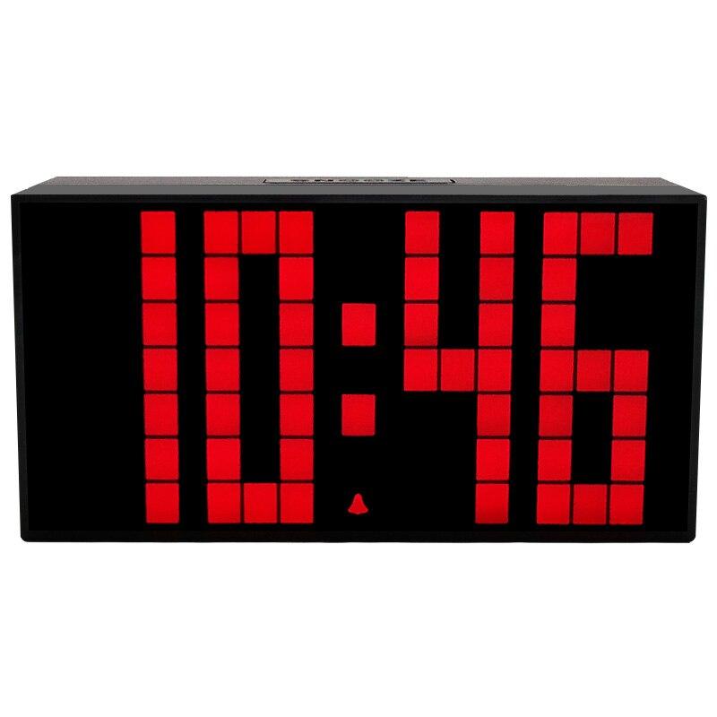 Gruppen Im Wohnzimmer | Grosse Led Digitaluhr In Wohnzimmer Anzeige Snooze Kalender