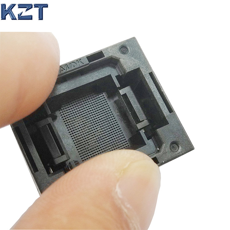 eMMC153/169 Reader Test <font><b>Socket</b></font> IC Body Size 11.5x13mm Pitch 0.5mm BGA153 <font><b>BGA169</b></font> Burn in <font><b>Socket</b></font> Adapter Flash Data Recovery image