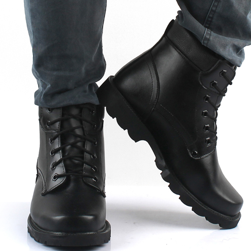 2017 winter hot sale black men Military Combat Desert Boot asker bot Mens bot Army Tactical