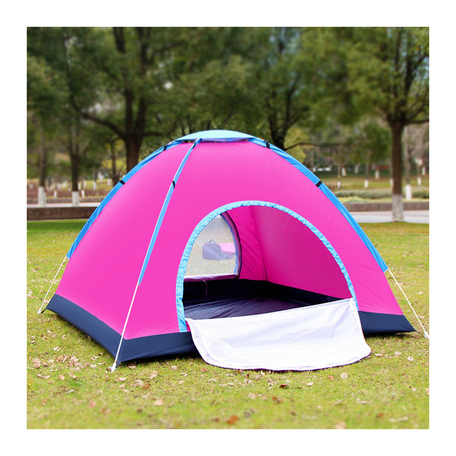 3-4people Quick Automatic Opening Camping Tent Outdoor Sunscreen Travelling Mountain Climbing Picnic Camping Fishing Tent