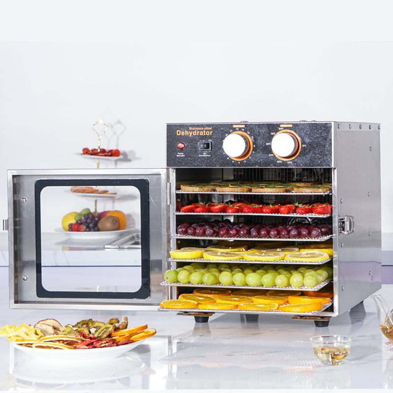 6-layer stainless steel dryer edrefon dry food Food dehydration dryer fruit vegetables Meat food Dryer