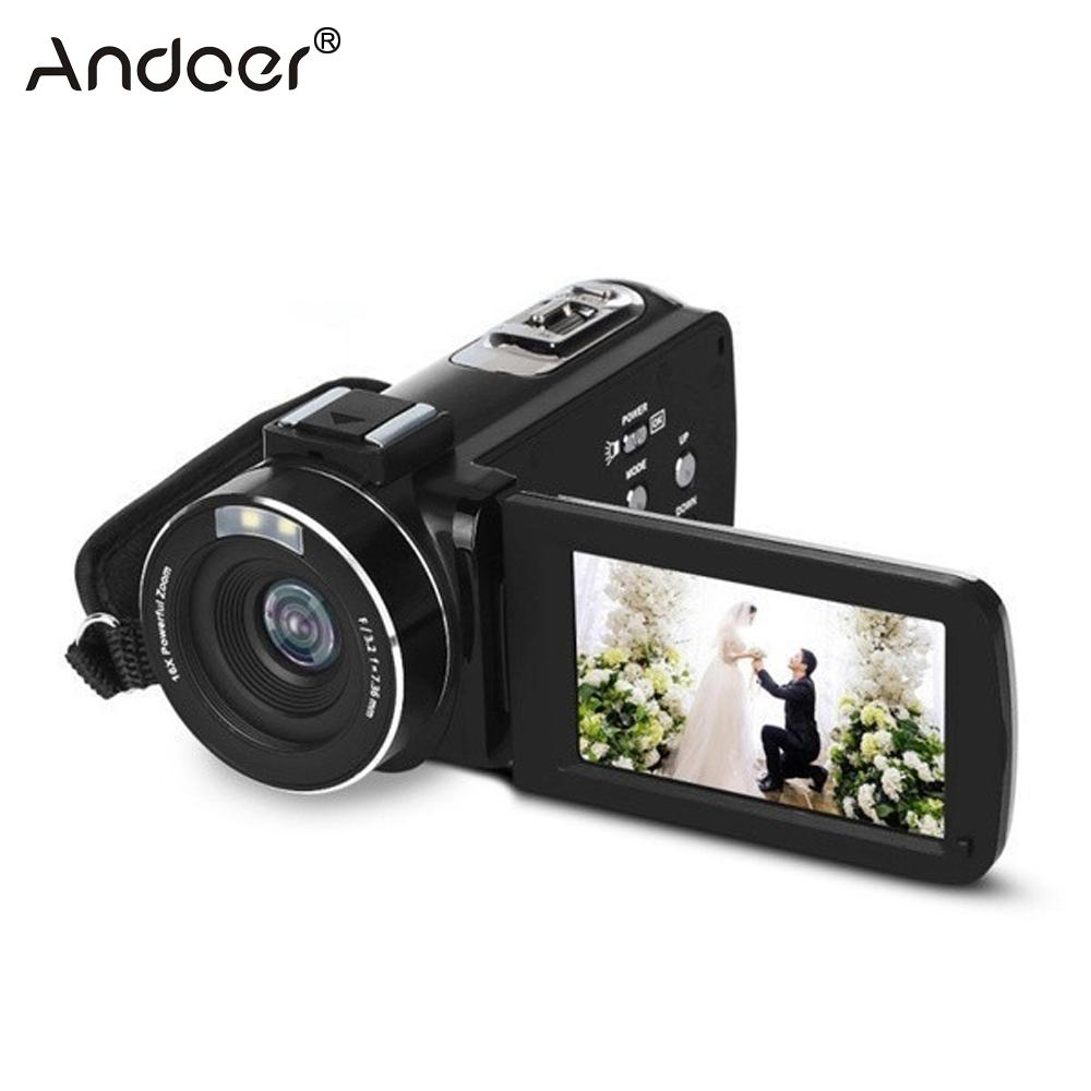 Professional Digital Camera 1080P Full HD Night Vision 3 0in LCD Screen Cameras Video Camcorder Mini