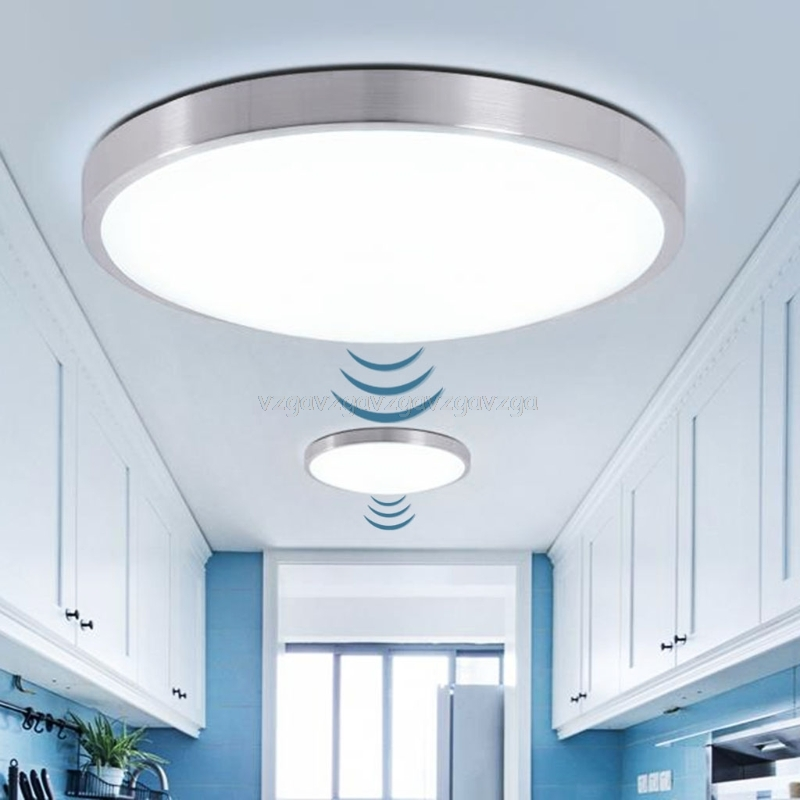 2019 New High Quality Surface Mounted Motion Sensor/Radar Human induction Acrylic led ceiling lights Fixtures J16 19 Dropship2019 New High Quality Surface Mounted Motion Sensor/Radar Human induction Acrylic led ceiling lights Fixtures J16 19 Dropship