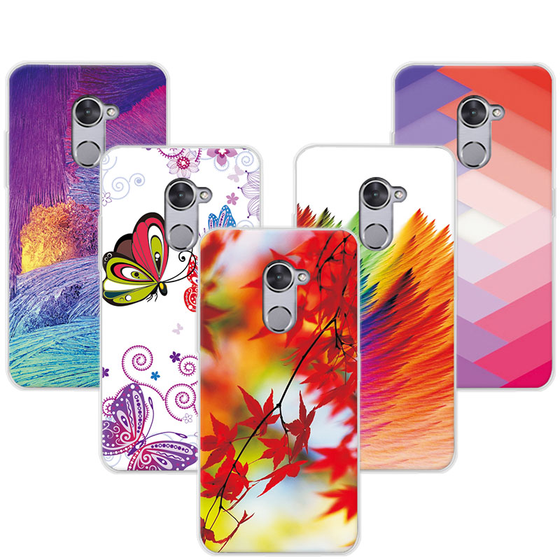Colorful Pretty Phone Cases Coque For Vodafone V8 Soft TPU Exotic Plants Case Cover For Vodafone Smart V8 V 8 For VDF V8 5.5 ...