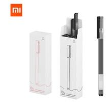 Xiaomi Bolígrafo de signo Mijia Original, 0,5mm, MI Kaco, Core, duradero, para firmar, recarga negro, 10 unidades