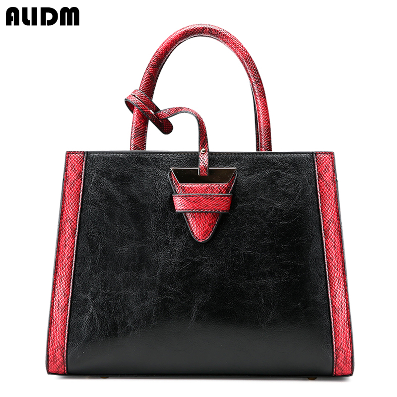 New Fashion PU Leather Women Bag Ladies Luxury Snake Shoulder Bags Designer Handbags High Quality women Tote Bags Large Bolsos