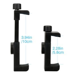 Image 5 - Ulanzi Mini Telefon Stativ Tabletop Montieren Smartphone Clip Halter Stehen w Abnehmbare Kugelkopf für iPhone X/8/7 Plus Huawei xiaomi