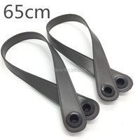 Newest 1 Pair New Style Diy Handle 6 Colors For Your Choice 2 Length 45 Cm
