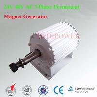 48V 1000W three phase AC generator Wind Turbine System DIY Use 24V/48V options 1KW Rated Power