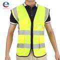 Multicolor-Oi Vis Colete de Segurança Colete de Segurança Colete Reflector 5 Bolsos Nova Qualidade Durável