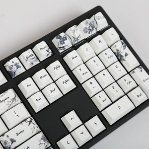 Image 5 - Ink keycap  keycaps 5 Surfaces Dye sub Profile  104 Key ANIS Layout Augment For Standard Mechanical Keyboard Newly Arrival