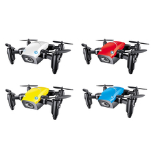 Mini Drone S9HW With Camera S9 No Camera RC Helicopter Foldable Drones Altitude Hold RC Quadcopter WiFi FPV Pocket Dron VS CX10W
