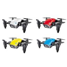 Мини Drone S9HW с Камера S9 без Камера вертолет складной дроны высота Удержание Радиоуправляемый квадрокоптер Wi-Fi FPV карман Дрон VS CX10W