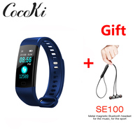 New Bluetooth Smart Bracelet Heart Rate activity fitness tracker Blood Pressure Sports Band Electronic Wristband For Women Men