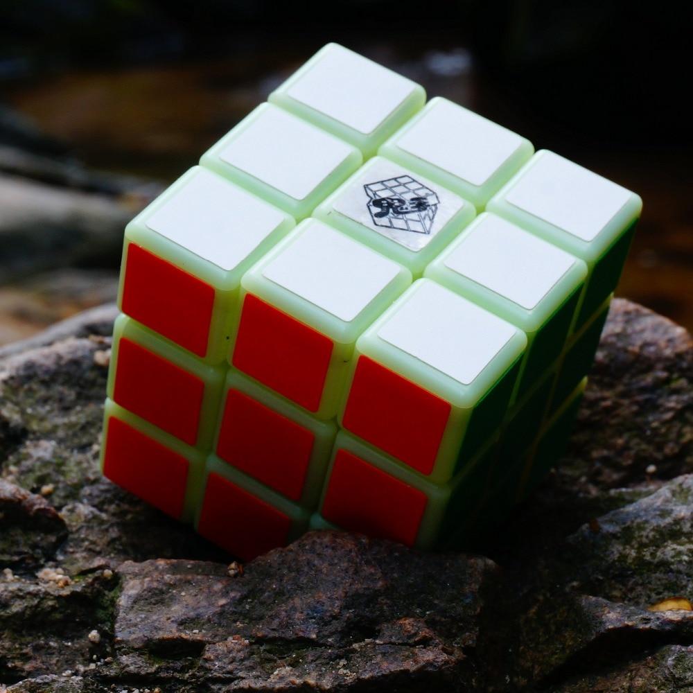 2018 Ny kommer magisk yoyo kube Noctilucent Magic Cube Professional 3 - Puslespill - Bilde 3