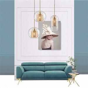 Image 5 - Đèn Thủy Tinh Bóng Đèn Mặt Dây Chuyền Ánh Sáng Chủ Phòng Ngủ Luminaria De Teto Pendente Vintage Nghệ Thuật Vintage Công Nghiệp Mặt Dây Chuyền Bắc Âu Loft