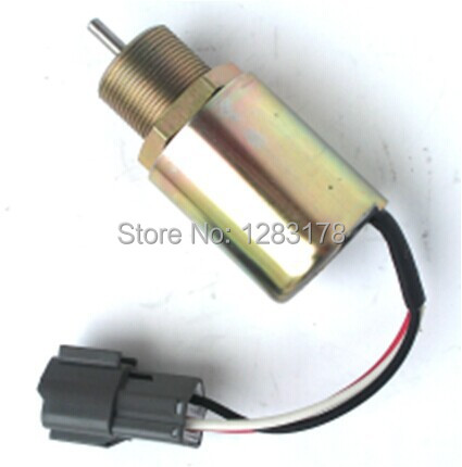 1751ES,SA-3725,30A87-10044.Fuel Shutdown Solenoid Valve for Toro 223D Mitsubishi engine fuel shutdown solenoid 1823723c91 sa 4338 24 for cummins navistar 24v