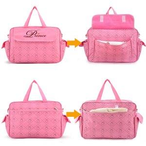 Image 3 - Insular Mommy Bag for Baby Stroller Bag Waterproof Diaper Bag for Mom Multifunctional Maternity Bags Travel Durable Nursing Tote